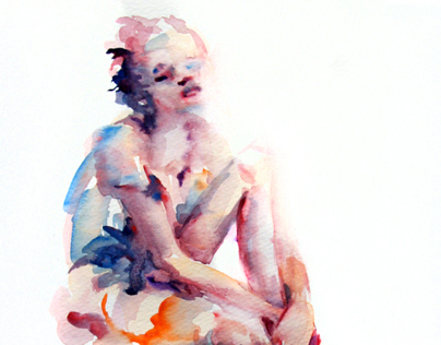 Watercolor Sketches-People