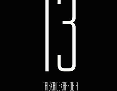 Triskaidekaphobia [fear of 13]
