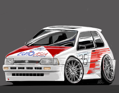 Japanese Cars League FunArt