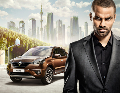 Renault Koleos with Tony Parker