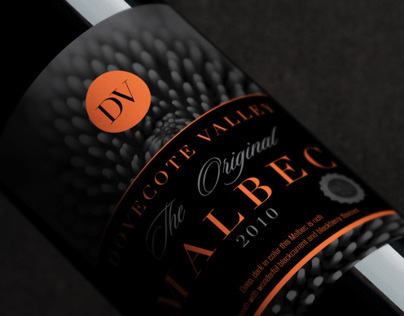 Dovecote Valley Wine Label Concept Part1