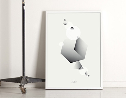 Shapes · Posters.