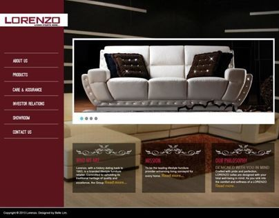Redesign Website - Lorenzo