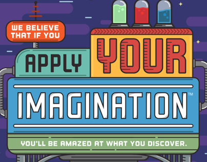 Apply your imagination Wallpaper v2