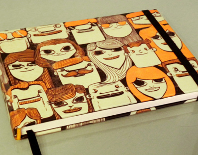 Noderca Sketchbooks Cover