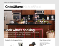 Crate and Barrel Browse Emails