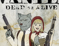 Red riding hood & the wolf - tribute to bonnie & clyde