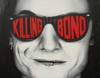 Killing Bono - Hand-Painted Mural