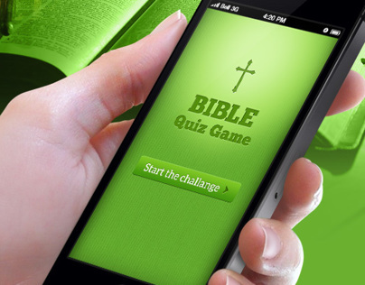 Bible Quiz Game Concept