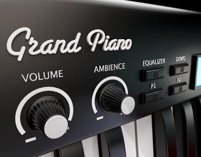 GRAND PIANO - ICON - 3D