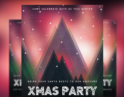 xMas Party Invitation I