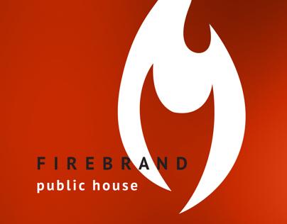 Firebrand Public House Identity Concept