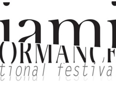Miami Performance International Festival 12 logo