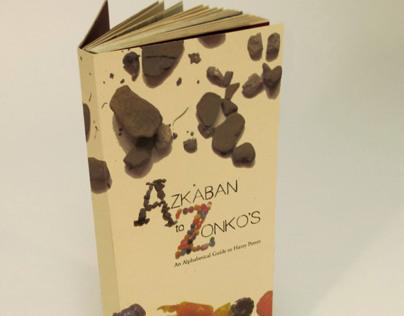 Harry Potter Alternative Alphabet Book