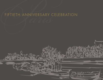 Anniversary Party Invitation Concept