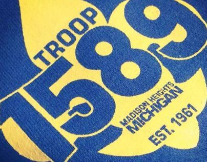 BSA Troop 1589 Logo and Shirt Design