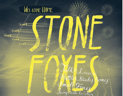 Stone Foxes Poster