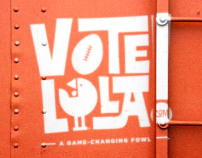 Vote LoLa - Big Game Campaign