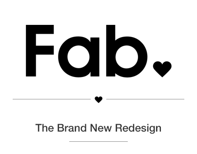 Fab.com - The Brand New Redesign
