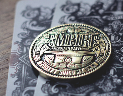 Empire Playing Cards - Collectors Poker Coin