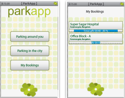 Parking Appilication