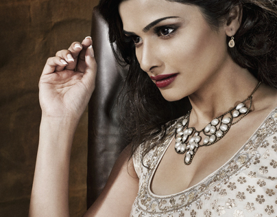 Prachi Desai for Bblunt India