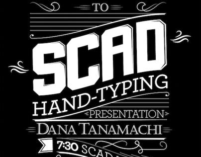Dana Tanamachi SCAD Poster