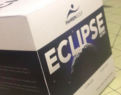 Eclipse Golf Ball Packaging