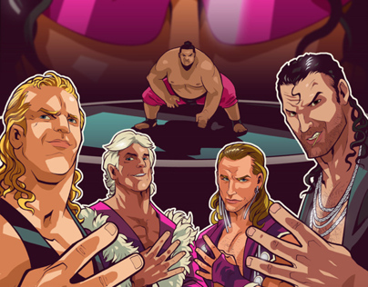 WWE Magazine Illustrations Set #2