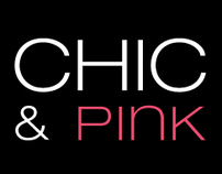 Corporate identity for 'Chic & Pink'