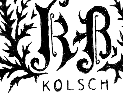 Logo Sketches // KB Kolsch