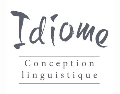 Idiome Conception linguistique