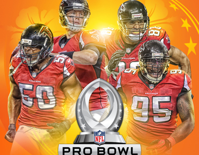 Atlanta Falcons Pro Bowl Graphics