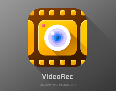 iOS7 VideoRecorder flat icon