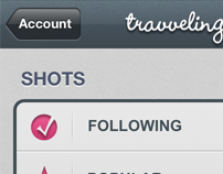 Travveling for Dribbble