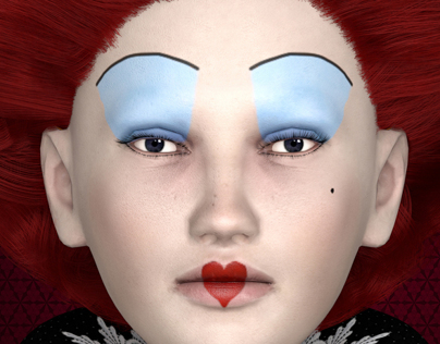 Red Queen - Character Modeling in MAYA