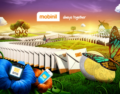 Mobinil SMS world