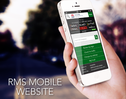 RMS Mobile Website