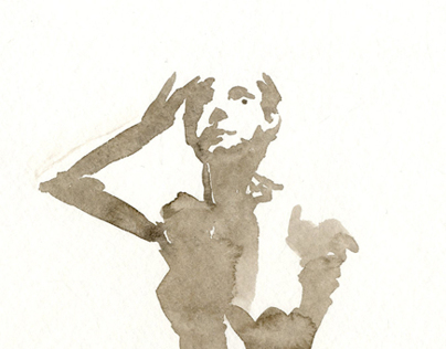 Watercolor Figures