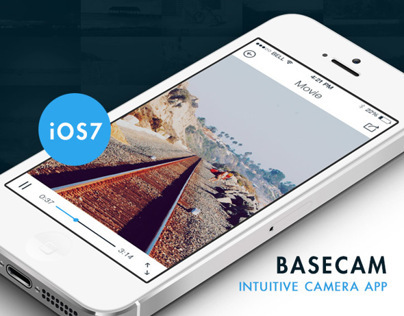 BaseCam - Intuitive Camera App - iOS7