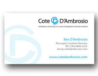 Cote & Dambrosio Stationery