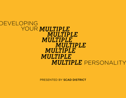 Developing Your Multiple Personality