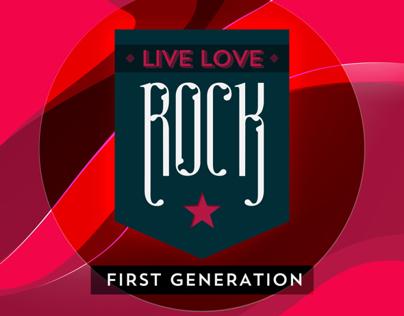 Live. Love. Rock.