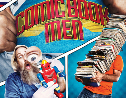 Comic Book Men - Season 1 Keyart