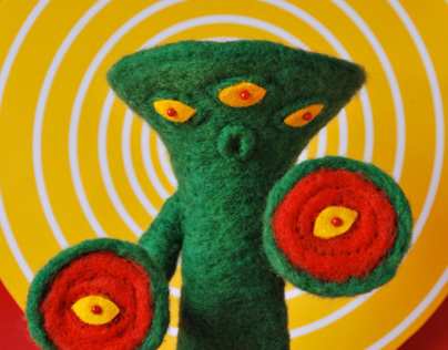 Knock Off Tokusatsu Kaiju Series: Six Eyed Bandel