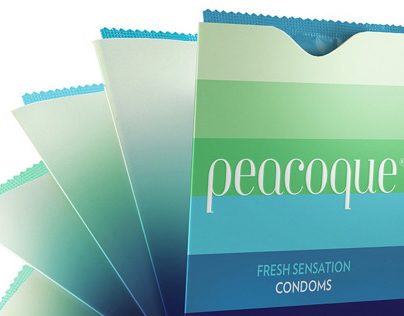 Peacoque - Innovative Condom Packaging