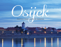 "Photo book:  ""Osijek, Pearl of Pannonia"""