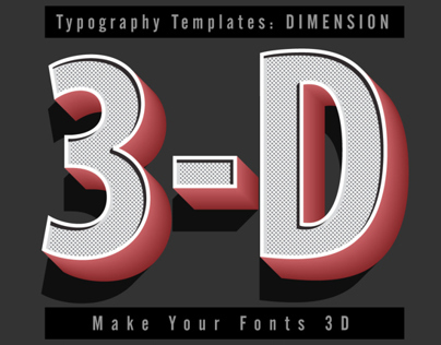 Interactive Typography Templates