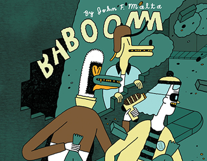 BABOOM! Issue One Cover