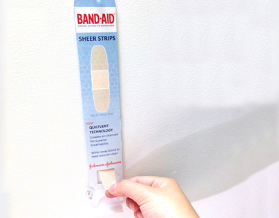 Packaging: Band-Aid Dispenser